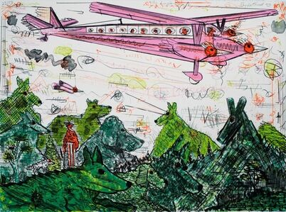 Roy DeForest, 'The Airplane', 1993