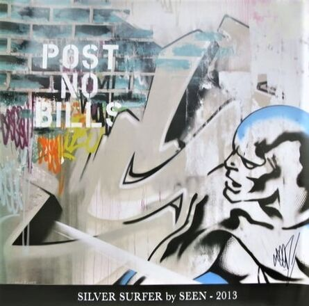 SEEN, 'Silver Surfer', 2013