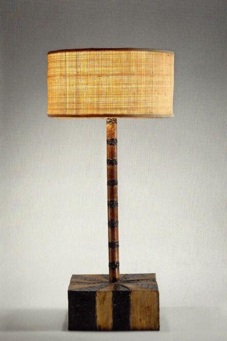 Paul Evans (1931-1987), 'Sculptural Steel Lamp', 1958