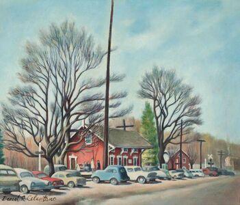 Daniel Ralph Celentano, 'St. James Place, Railroad Station'