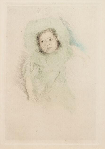 Mary Cassatt, 'Margot Wearing a Bonnet (No. 1)', c. 1902