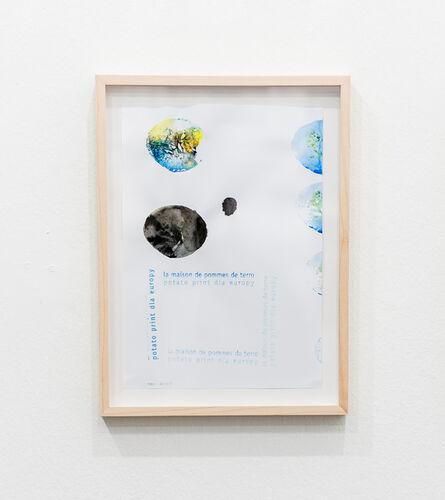 Hanno Otten, 'La maison de pommes de terre potato print dla Europy', 2017
