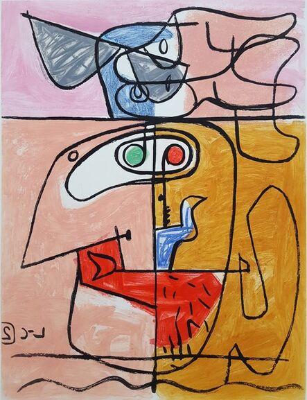 Le Corbusier, 'Unité, Planche 2 (Set of 2)', 1965
