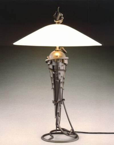 Albert Paley, 'Comet Table Lamp', 2005-2010