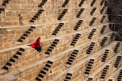Steve McCurry, 'Woman in Chand Baori Stepwell', 2016