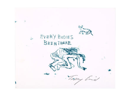 Tracey Emin, 'Every Bodies Been There', 1998