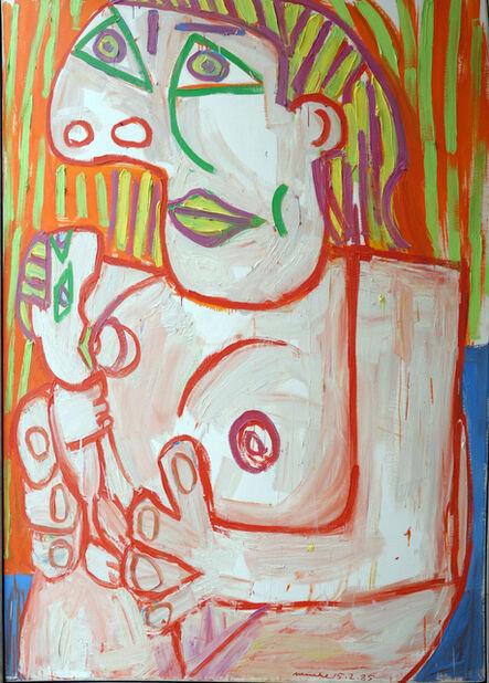 Otto Muehl, 'Nach Picasso', 1985