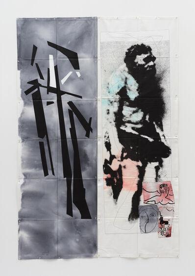 Eugenio Dittborn, 'Nadar Airmail Painting No. 191', 2017