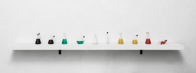 Leonardo Petrucci, 'Take it and drink it all, the table of the alchemist', 2018