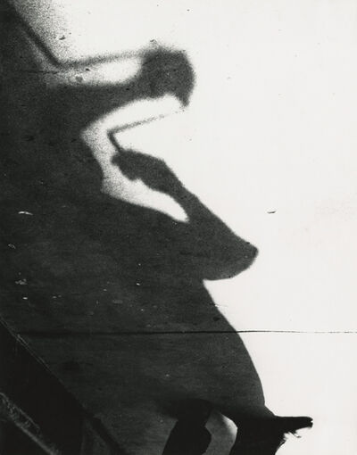 Marvin E. Newman, 'Shadow of a Man, Shadow Series, Chicago', 1951
