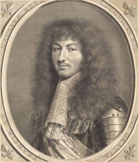 Robert Nanteuil, 'Louis XIV', 1664