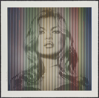 Mr. Brainwash, 'Fame Moss- Rainbow', 2015
