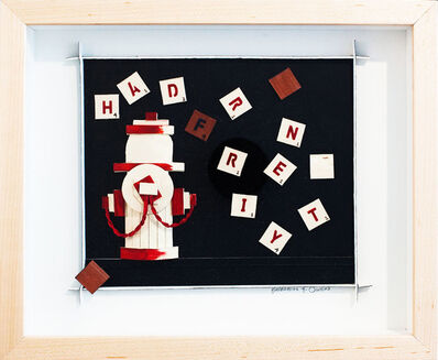Katharine Owens, 'Scrabble Hydrant - Red', 2012