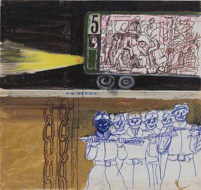 """Antonio Berni, 'Sin título. De la serie """"México 68.', ca. 1968"""