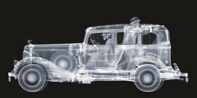 Nick Veasey, '1930's Pontiac with Gangsters', 2016