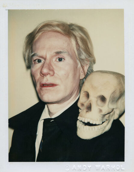 Andy Warhol, 'Self-Portrait with Skull', 1977