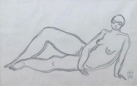Sanyu, 'Reclining Nude', ca. 1920