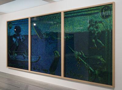Jan Fabre, 'Venturing on Slippery Iron', 2013