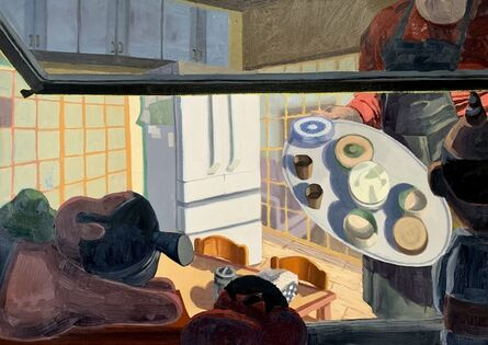 Andy Brown, 'A View from Our Microwave', 2021