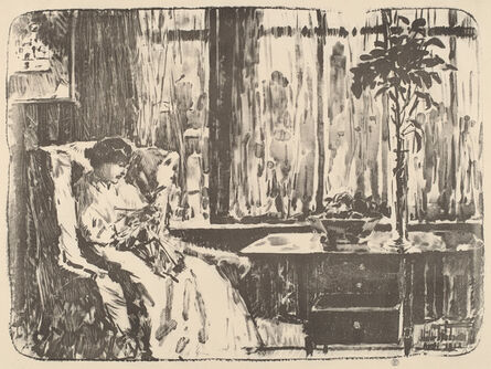 Childe Hassam, 'The Broad Curtain', 1918
