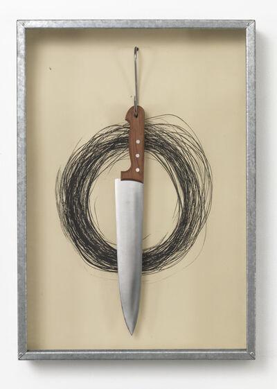 Jannis Kounellis, 'UNTITLED (HANGING KNIFE)', 1991