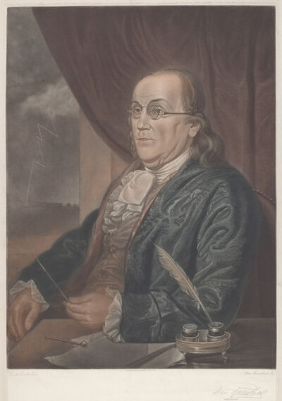 Max Rosenthal after Charles Willson Peale, 'Benjamin Franklin', 1901