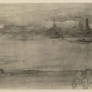 James Abbott McNeill Whistler, 'Early Morning', 1878