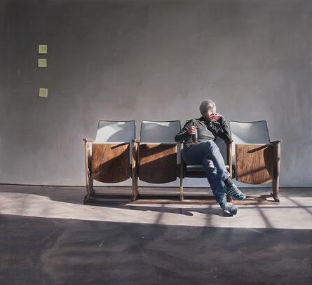 Brigitte STENZEL, 'Still-life Cinema Bench', 2017