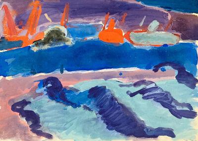 Alexei Kamensky, 'Yalta Harbour', ca. 1960's