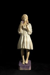 Kohta Sakai, 'As always, her meditation will walk around in midnight.', 2014