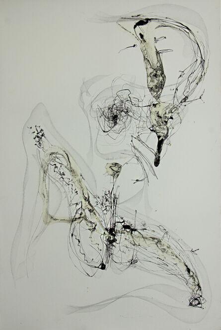 Raul Gabriel, 'Writing #9', 2013