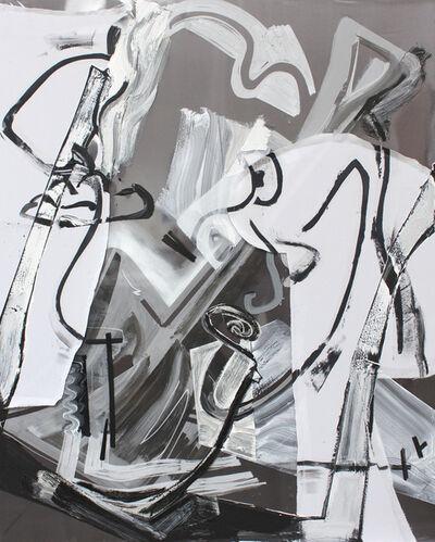 Ryan Sluggett, 'Black and White Daddy (Shovel)', 2014