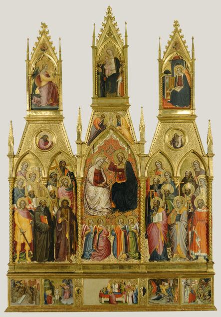Cenni di Francesco di Ser Cenni, 'Polyptych with Coronation of the Virgin and Saints', 1390