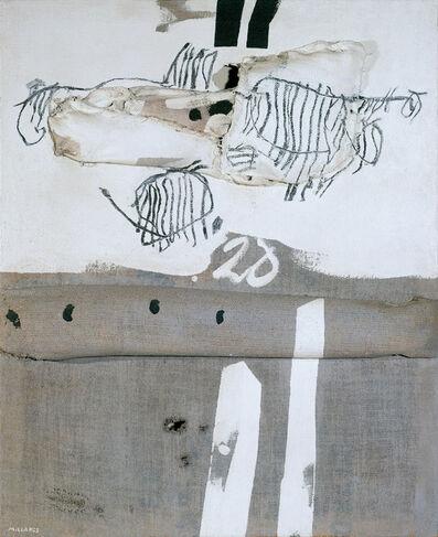 Manolo Millares, 'Antropofauna - Paloma', 1971
