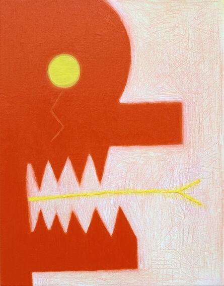 Alex Gene Morrison, 'Orange Head (Yellow Tongue)', 2018