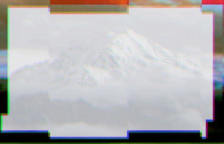 Christian Eckart, 'Glitched Mountain', 2019