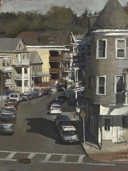 Andrew Haines, 'Woodlawn Street, (Sun)', 2017