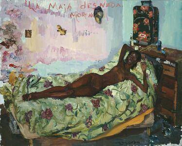 Liu Xiaodong, 'The Nude Black Maya', 2009