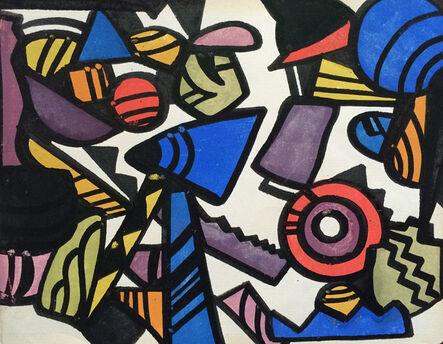 Jay Van Everen, 'Synchromist Abstraction', ca. 1921
