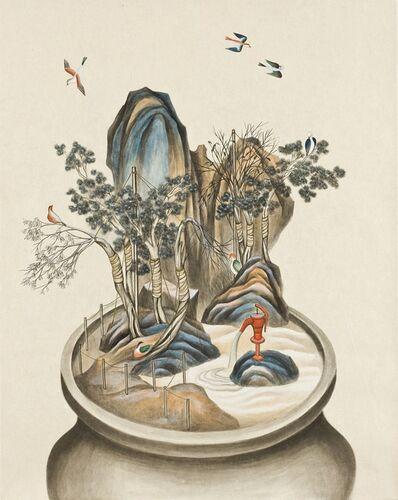 Hyun Kyung Lim, 'Growing Vase-4', 2012