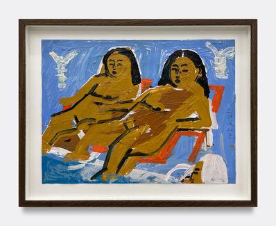 Monica Kim Garza, 'Chairs by the Water', 2021