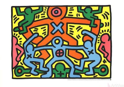 Keith Haring, 'Untitled (1985)', 1999