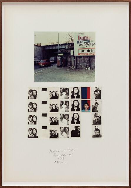 Franco Vaccari, 'Photomatic d'Italia (Milano)', 1973