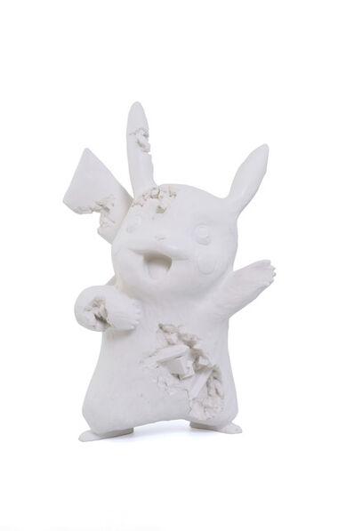 Daniel Arsham, 'White Crystalized Pikachu', 2020