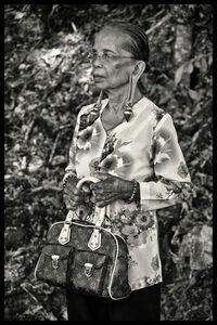 SC Shekar Subrahmanyam, 'Kayan Tribe Elder', 2016