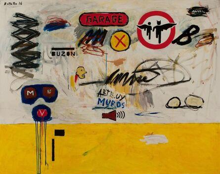 Daniel Batalla, 'Garage y Signos', 2016