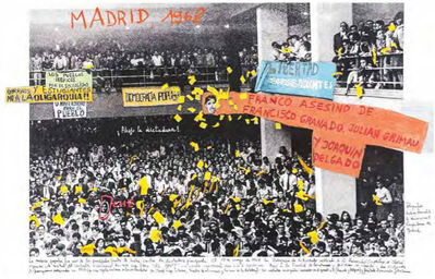 """Marcelo Brodsky, 'From the series """"1968, The fire of the ideas"""", Madrid, 1968', 2014-2017"""