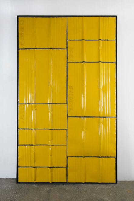 Kevin Rouillard, 'Monolithe jaune', 2020