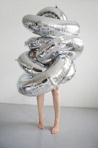 Polly Penrose, 'Silver Balloons', 2015