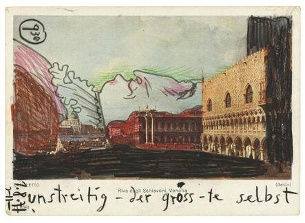 Horst Janssen, 'Ohne Titel', 1971